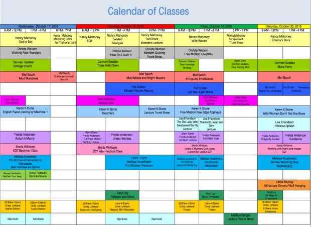 Points West Quilt Calendar
