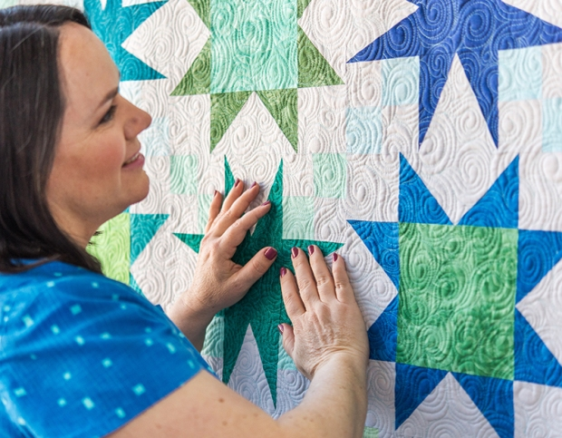 Machine Quilting Swirls with Christa Watson