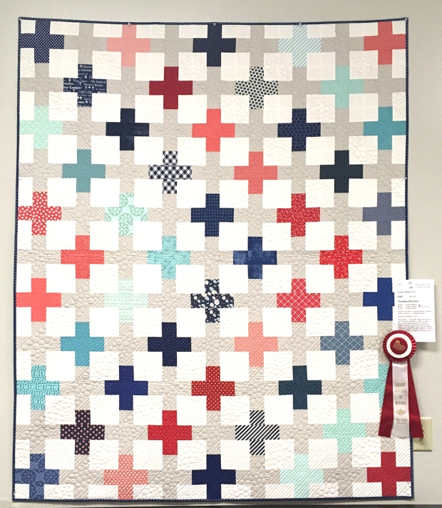 Positive Direction Quilt by Christa Watson
