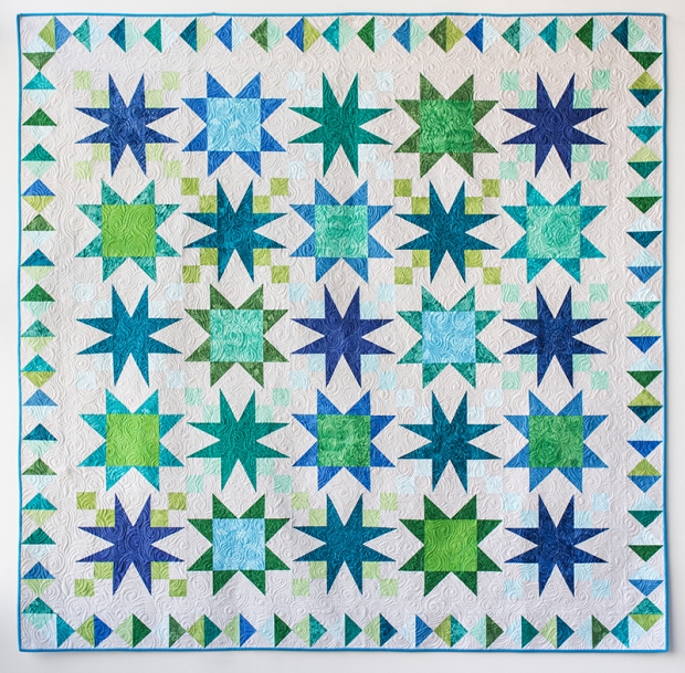 Starry Path Quilt by Christa Watson