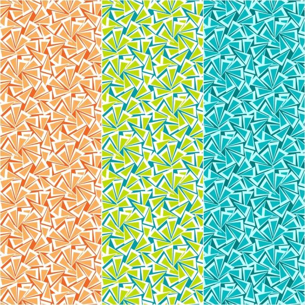 Fandangle fabric -Triangle Trinkets