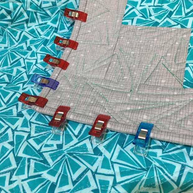 Binding with Wonder Clips