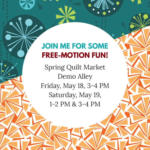 Demo Alley Spring quilt market