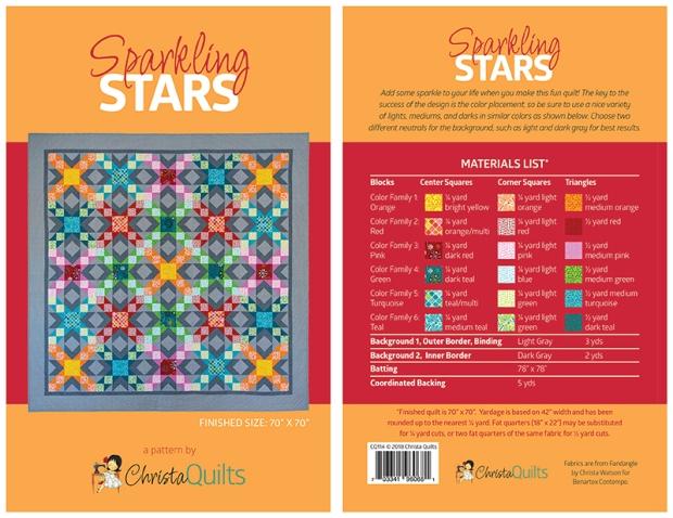 Sparkling Stars Pattern