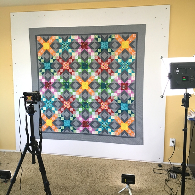 Photographing Sparkling Stars Quilt