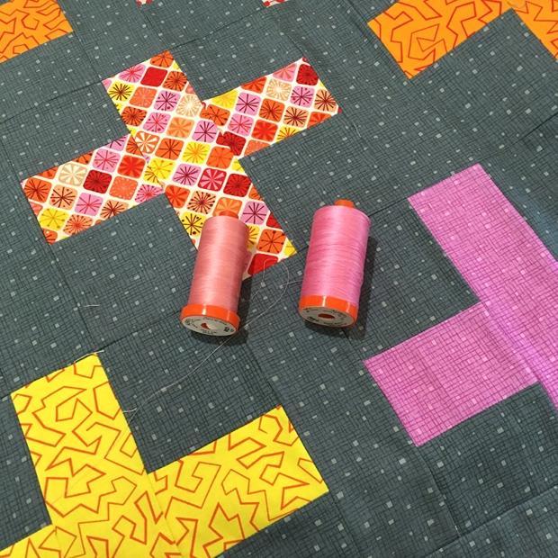 Aurifil Thread Variegated Pink