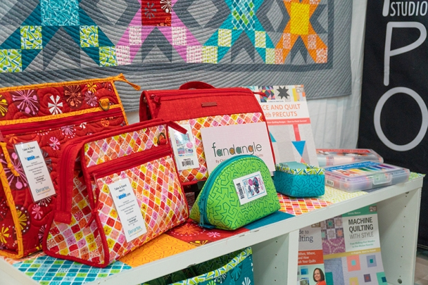 Bags by Annie Unrein made from Fandangle