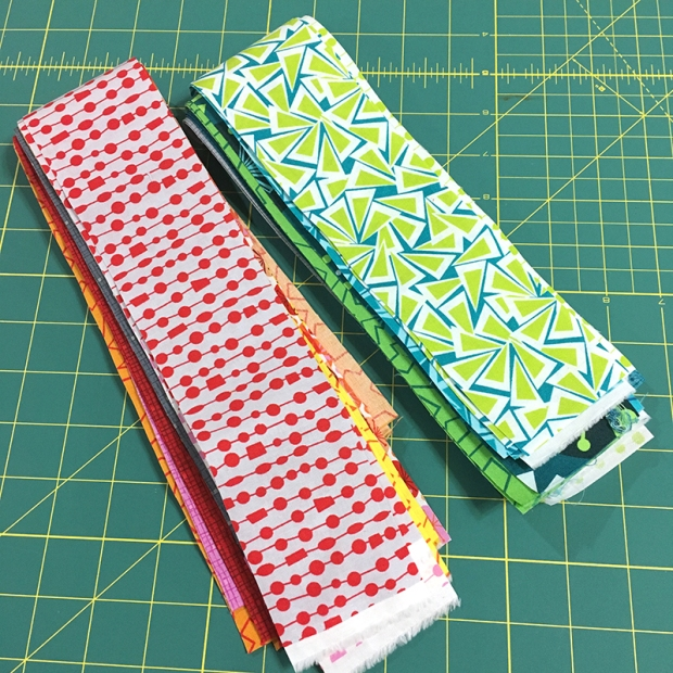 Fandangle Fabric Strips