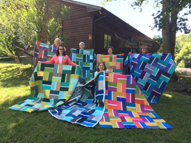 Students' Stepping Stones Quilts