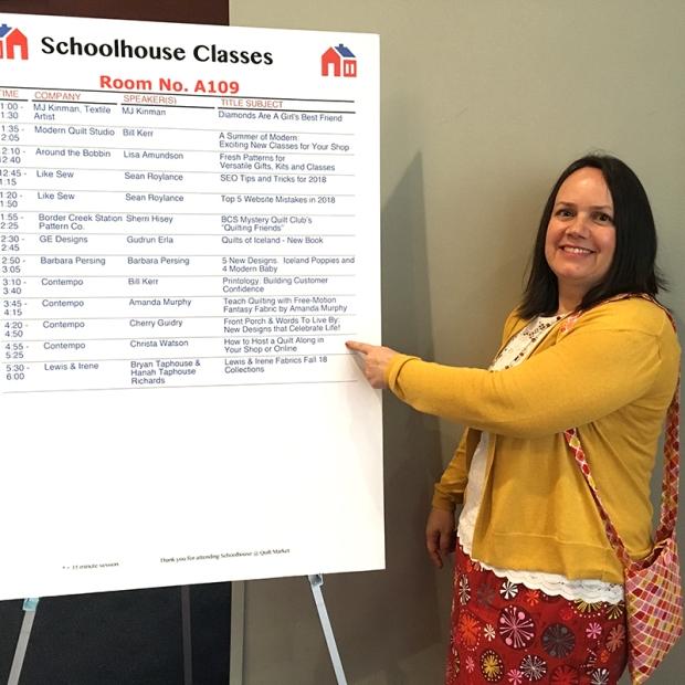 Schoolhouse Schedule