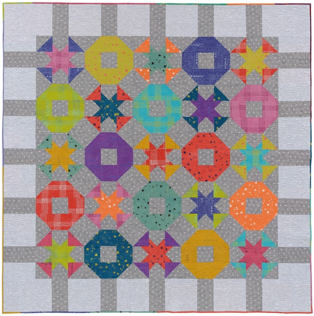 Tic Tac Toe by Christa Watson from Fat Quarter Favorites