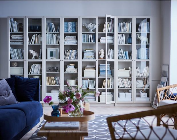 Billy Bookcases from Ikea