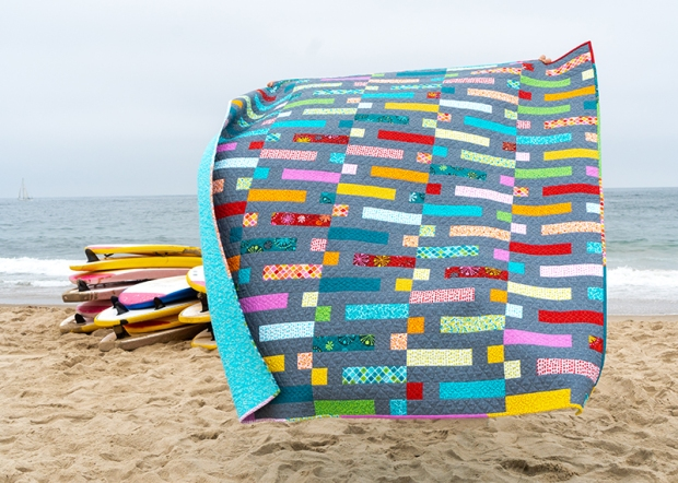 Dot 'n Dash quilt by Christa Watson