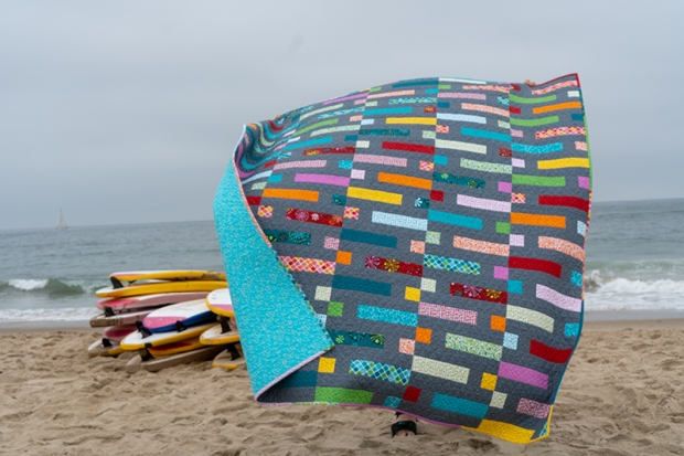 Quilts on the Beach - Dot n Dash made from Fandangle by Christa Watson