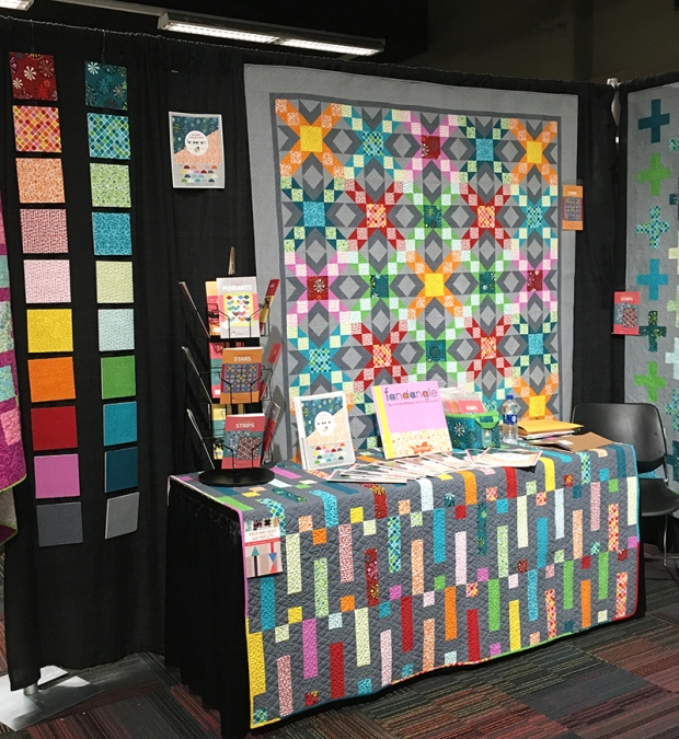 Fandangle Fabric Booth