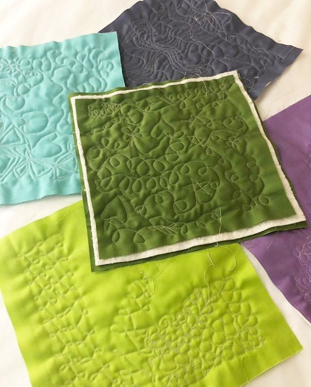 Quilted Samples at BU