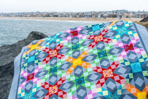 Sparkling Stars Quilt by Christa Watson