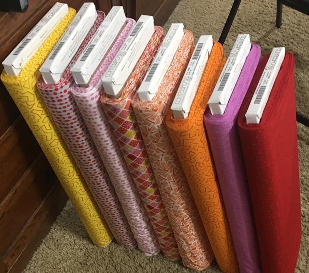 Fandangle Fabric by Christa Watson