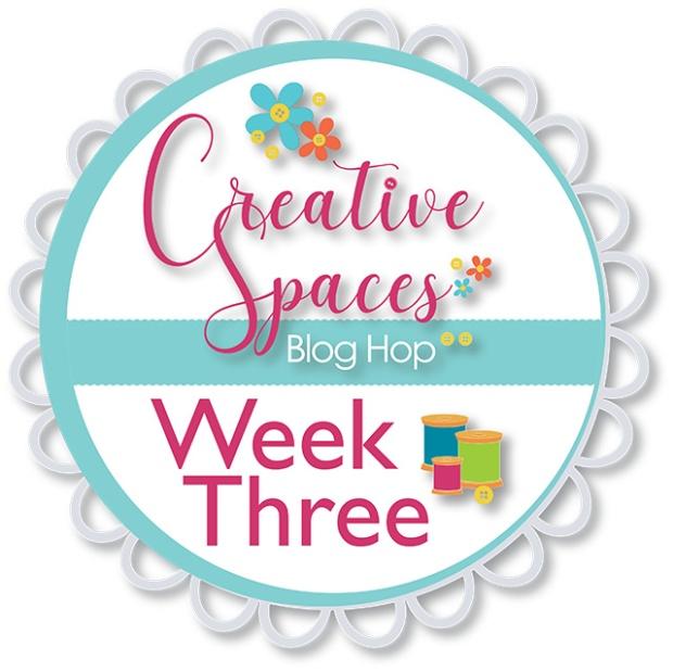 Creative Spaces Blog Hop Week 3