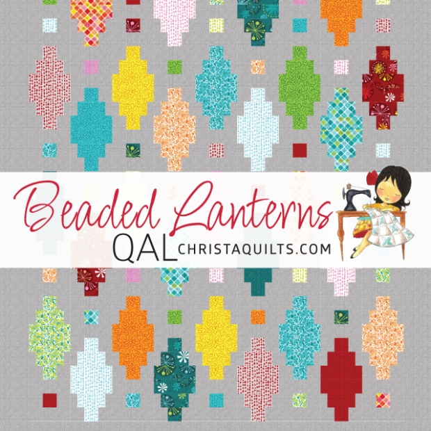 Beaded Lanterns Quilt Along