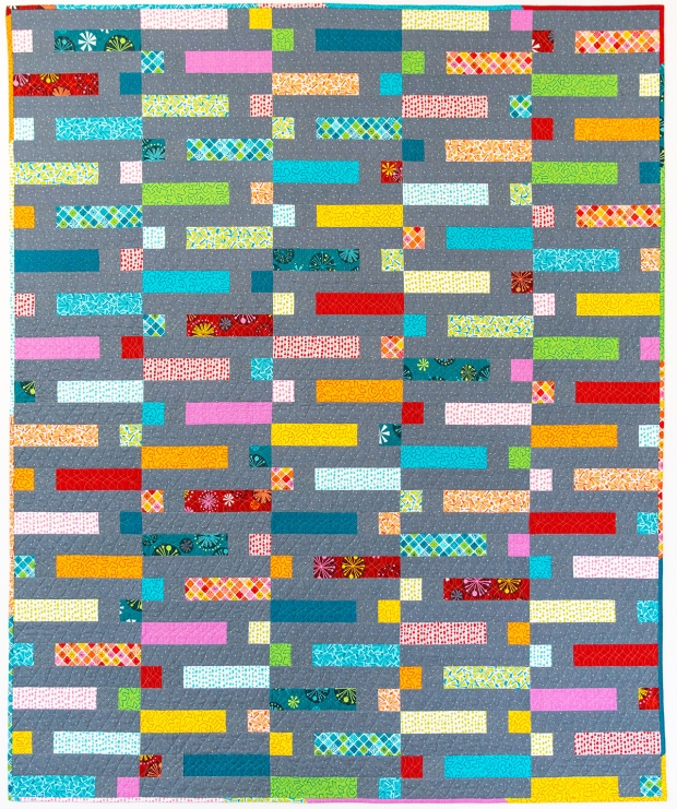 Dot n Dash quilt by Christa Watson