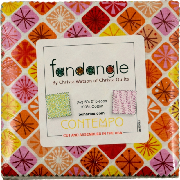 Fandangle Charm Pack by Christa Watson