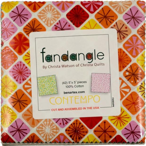 Fandangle Charm Pack by Christa Watson