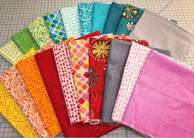 Fandangle fabric by Christa Watson for Benartex Contempo