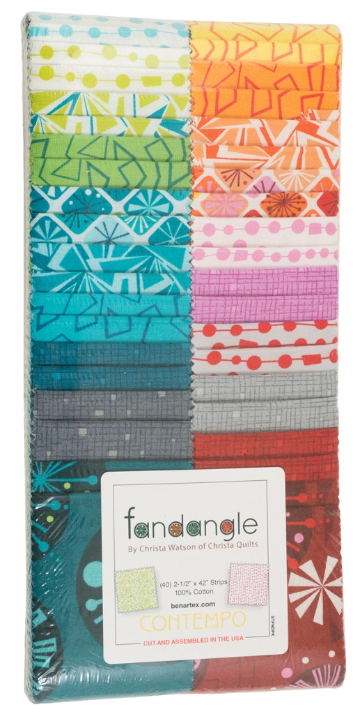 Fandangle Strippie by Christa Watson of Christa Quilts