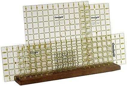Acrylic ruler holder