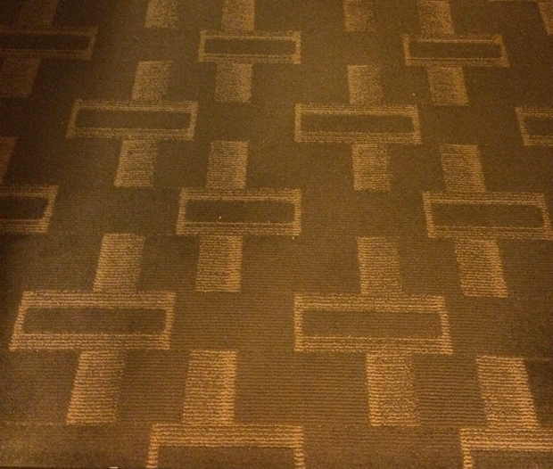 Inspiration for my desing - hotel carpet