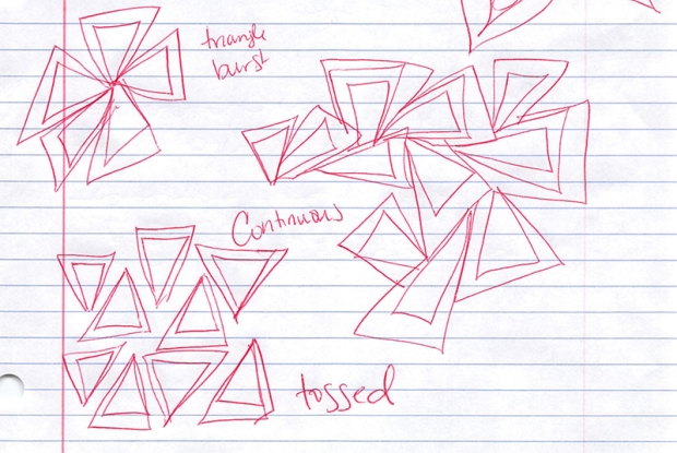 Triangles sketches