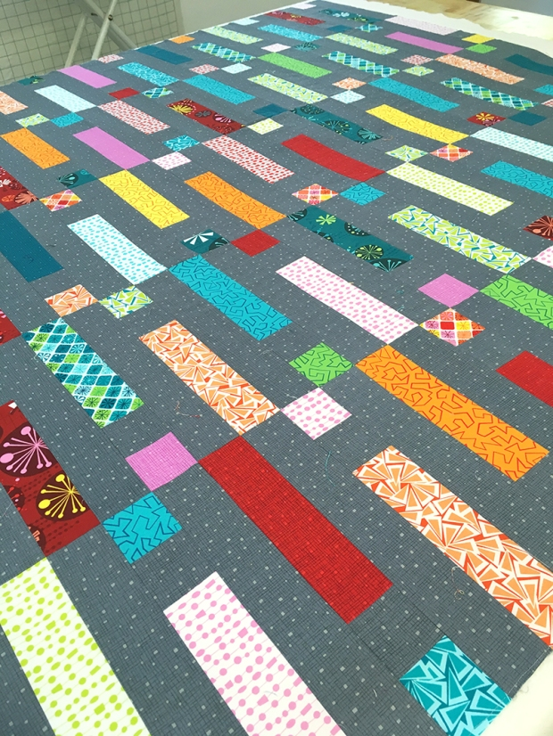 Dot n Dash Ready to quilt