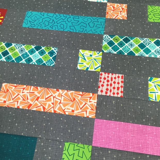 Dot n Dash piecing detail