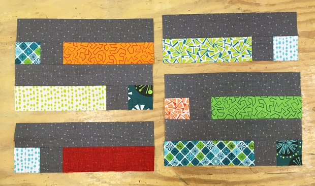 Dot n Dash Blocks in progress