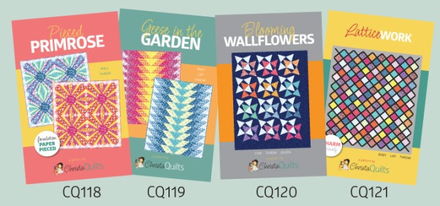 Abstract Garden Quilt Patterns