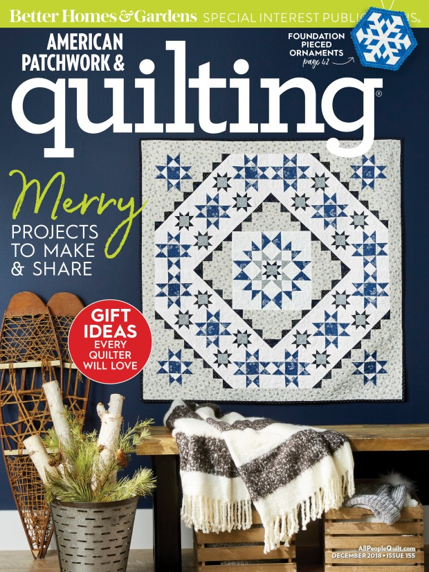 American Patchwork and Quilting December
