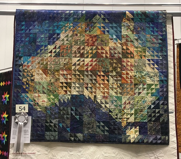 Australia Quilt by Barbara Kukulies