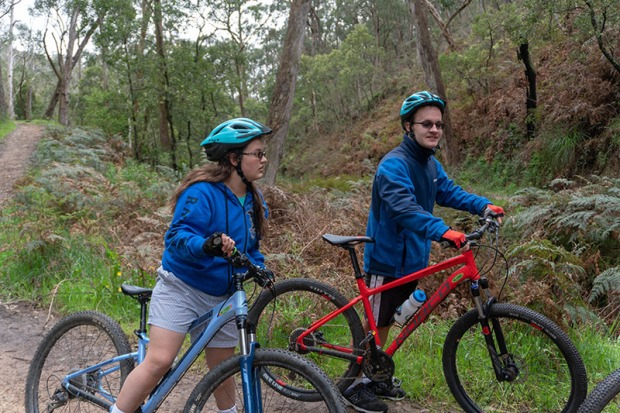 Biking in Australia