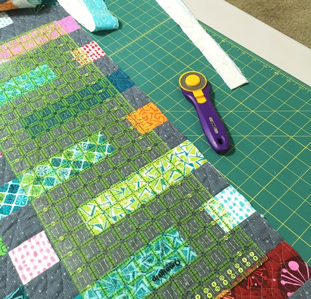 Quilt Trimming - Sides