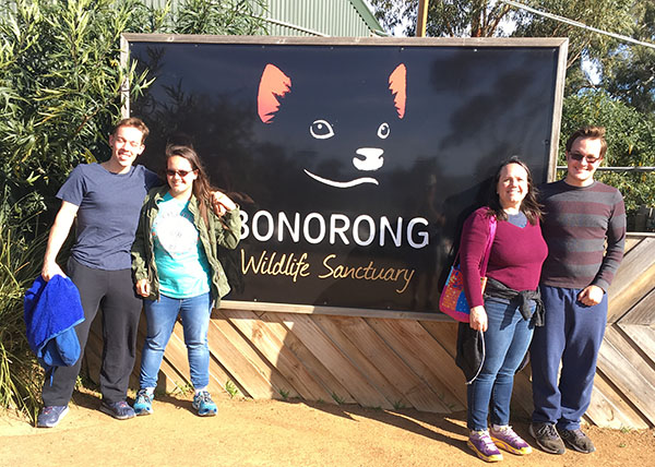 Bonorong Sanctuary in Tasmania