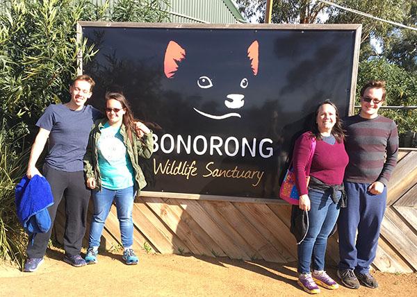 Bonorong Sanctuary in Tasmania