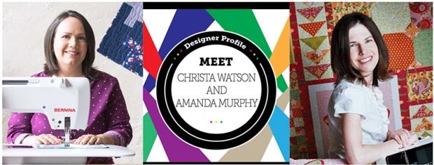 Christa Watson and Amanda Murphy