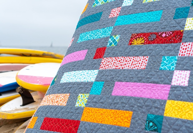 Quilting at the Beach