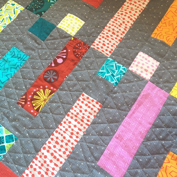 Free Motion Quilting Double Zig-zags