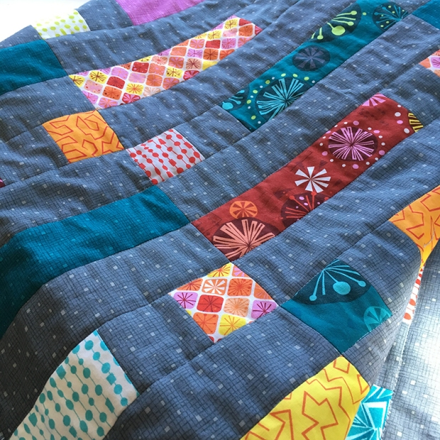 Dot n Dash machine quilting