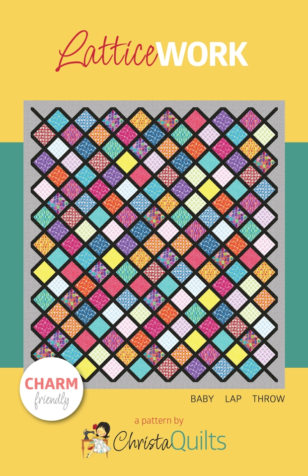 Lattice Work Quilt Pattern