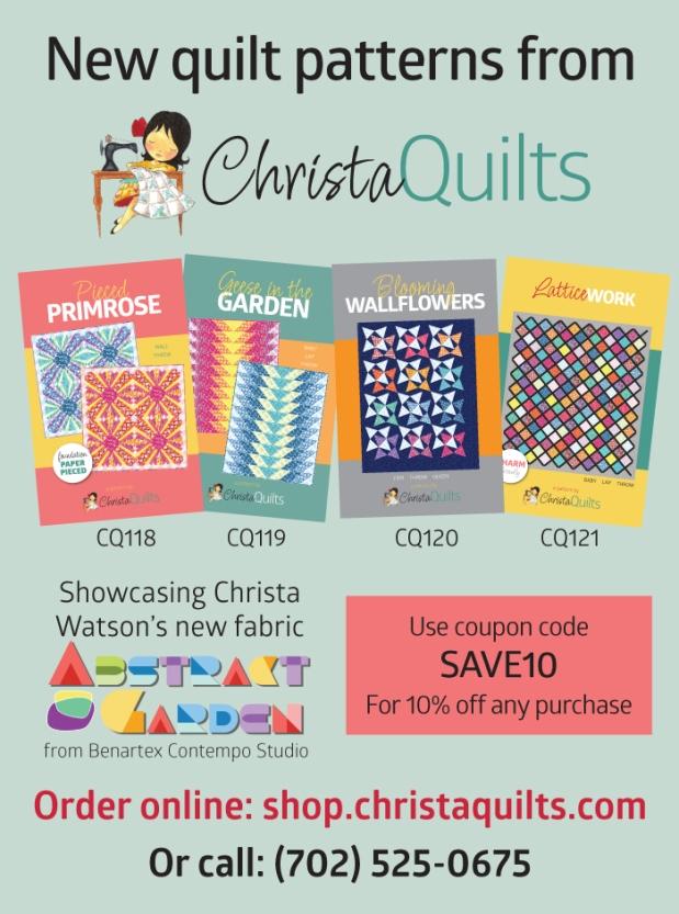 Christa Quilts Patterns