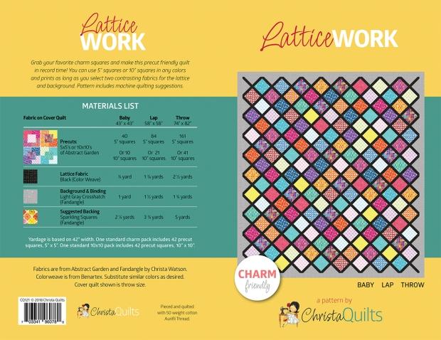 LatticeWork Quilt Pattern