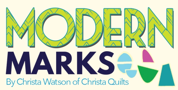 Modern Marks by Christa Watson for benartex